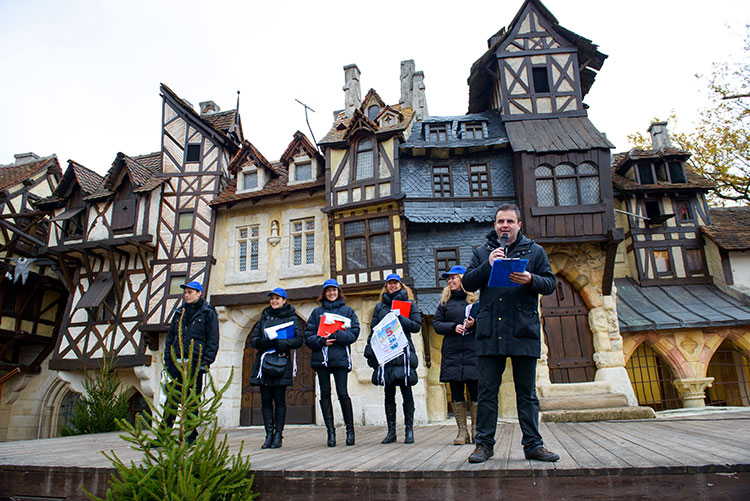 Team Building Rallye Parc Astérix